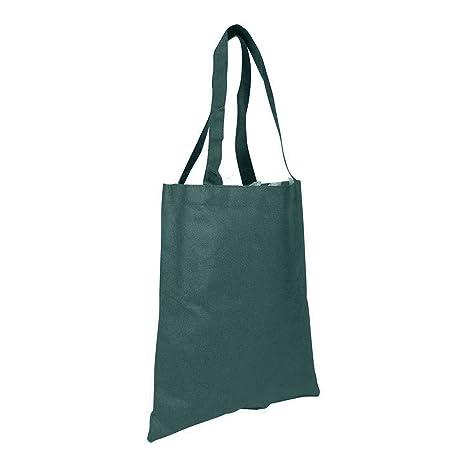 Amazon.com: Dalix reutilizable bolsa Bolsas (Negro, Verde ...