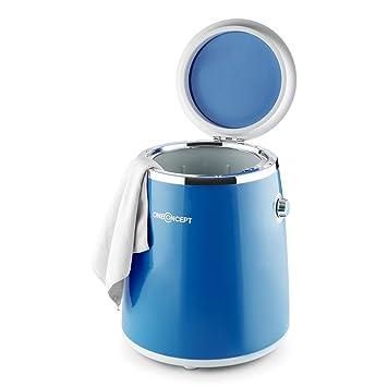 Oneconcept Ecowash-Pico • Mini Lavadora Portable • Lavadora de Camping • Función Centrifugado •