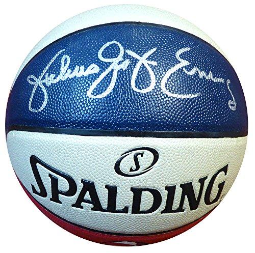 "Julius ""Dr. J"" Erving Autographed Official Spalding for sale  Delivered anywhere in USA"