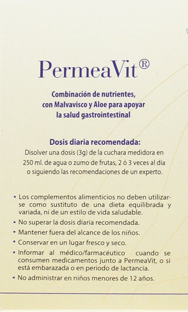100% natural PermeaVit Multivitaminas - 150 gr