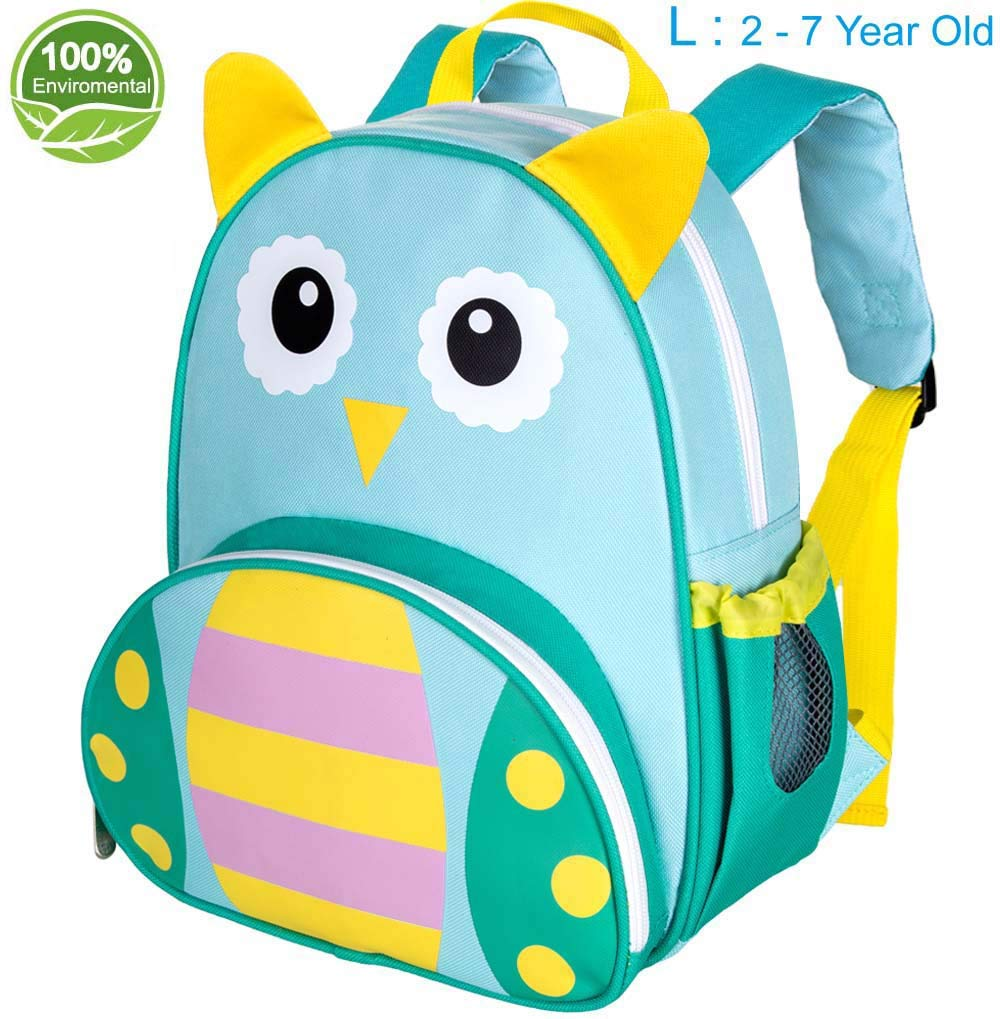 Toddler Backpack for Boys and Girls, 12.6' Giraffe School Bag, Suitable for 2-6 Years kids