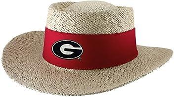 cab5d76d331 Georgia Bulldogs Tournament Straw Gambler Hat