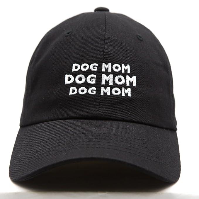 06077e185bc Nissi Dog Mom Dad Hat (Black) at Amazon Men s Clothing store