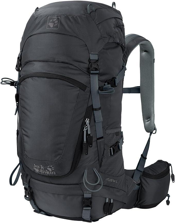 Jack Wolfskin Highland Trail 36 Wandern Outdoor Trekking Rucksack, Phantom, 57x31x10 cm