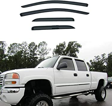 For 14-18 Chevy Silverado,GMC Sierra 4-DR Extended Cab Rear Glass Driver//Left