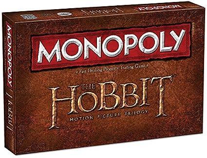 MONOPOLY: THE HOBBIT Trilogy Edition by USAopoly: Amazon.es: Juguetes y juegos