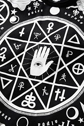Killstar Okkult Herren T-Shirt - Cult Mens Tee Okkulte Symbole