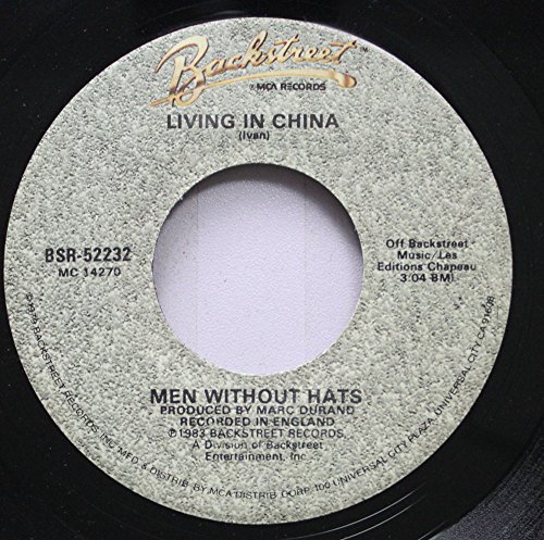 Men Without Hats - Men Without Hats 45 Rpm Living In China / The Safety Dance - Zortam Music