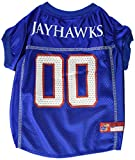 NCAA Mirage Pet Products Kansas Jayhawks Jersey for Dogs and Cats, Medium