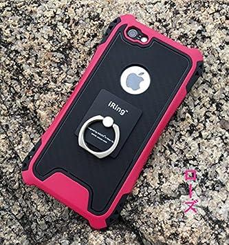 63effbb7a7 iPhone7 ケース 超頑丈 二層構造 耐衝撃 かわいい おしゃれ 簡単装着 レンズ保護 メタリック