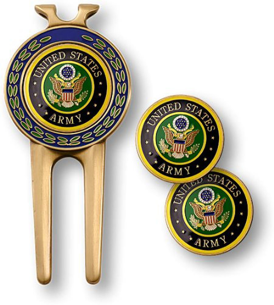 Armed Forces Depot U.S. Army Divot Tool and Ball Markers by Armed Forces Depot (Image #1)