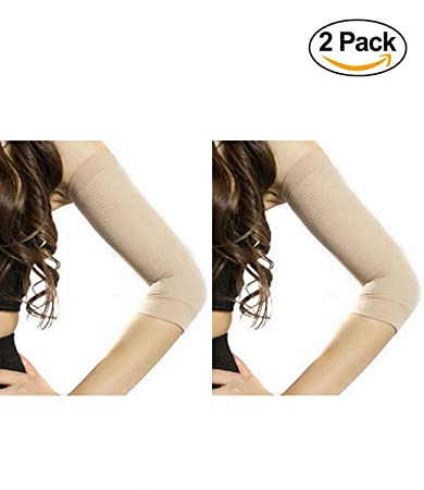 7e9807dbddb20 Starmace 2 Pack Slimming Arms Shaping Tone Energize Upper Arm Compression  RV Sun Protection Support Sleeves