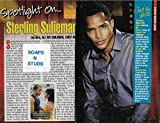 Sterling Sulieman (Dre, All My Children) 2013 Soap Opera Digest 'Spotlight On' Interview [3 Pages]