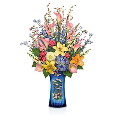 Always In Bloom 'Monet's Artistic Impressions' Handcrafted Bouquet on florist books, florist bowls, florist centerpieces, florist containers, florist tools,
