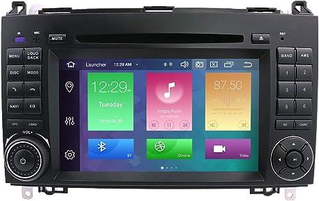 Classe A W169 A150 A170 A160 A180 Vito//Viano//Classe B W245 B160 B170 B180 B200 A200 St/ér/éo GPS de Voiture Android 10 St/ér/éo 9 Pouces Bluetooth pour Mercedes W906 Sprinter//Classe V W639