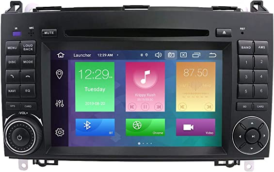Hizpo Android 10 Car Dvd Gps Stereo 7 Inch Touch Screen Elektronik