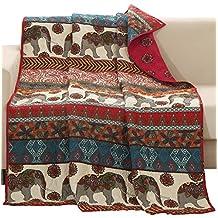 Barefoot Bungalow Kandula Desert Quilted Throw Blanket