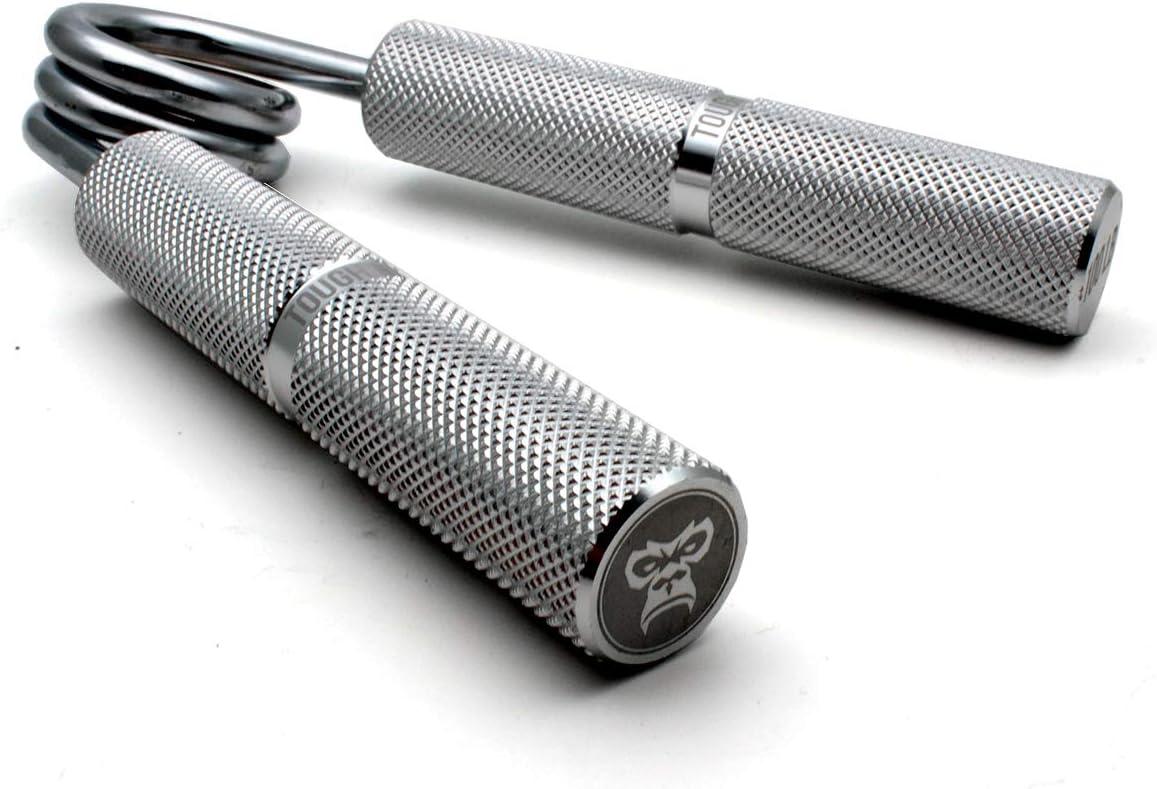Polso Pinza a Mano in Metallo Resistente Ape Rinforzo a Pressione - Schiacciatura Manico in Alluminio 6 livelli di Eesistenza Grip Trainer istruttore di presa per Sollevamento Pesi Molla Cromata Esercitatore per le dita