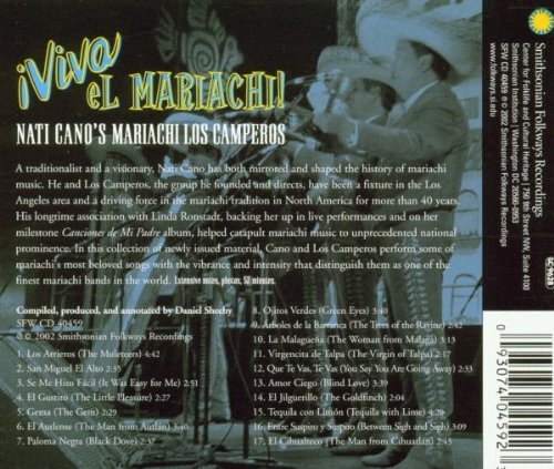 Viva El Mariachi! by Smithsonian Folkways Recordings