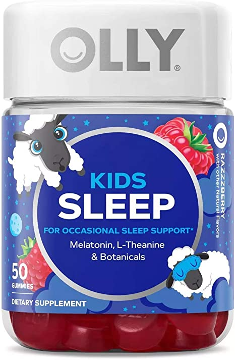 Amazon Com Olly Kids Sleep Vitamins Gummy 50 Gummies Raspberry