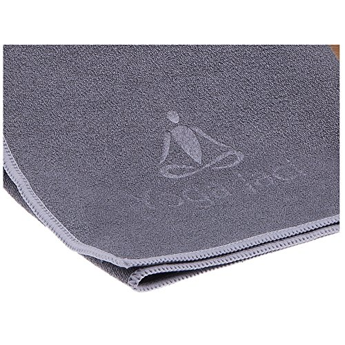 Yogaaddict Yoga Mat Towel And Hand Towel Combo Set: Yoga Mat Towel And Hand Towel As A Combo Set