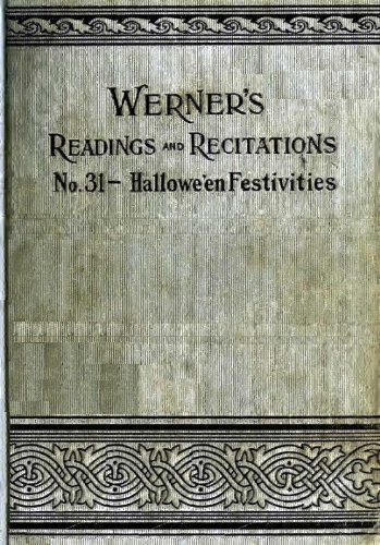 WERNER'S READING and RECITATIONS No. 31 Halloween
