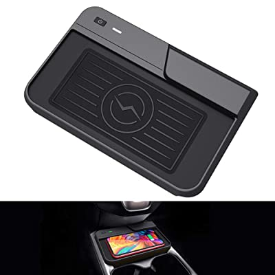 CarQiWireless Wireless Charger for CRV Car Fast Charging Charger, Center Console Holder Storage Box QI Enable Cell Phone Wireless Charging Pad Mat for Honda CR-V 2020 2020 2020 Interior Accessory: Home Improvement