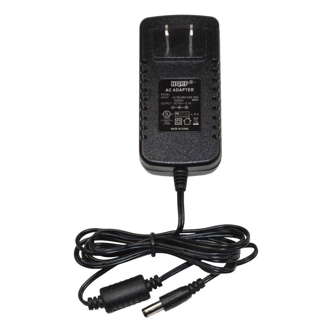 HQRP 12V AC Adapter Charger for TDK A33 A34 Life on Record Wireless Weatherproof Speaker A-33 A-34 Portable Rechargeable Power Supply PSU Cord Mains Adaptor + Euro Plug Adapter 887774408021702