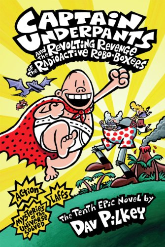 Best captain underpants radioactive robo-boxers list