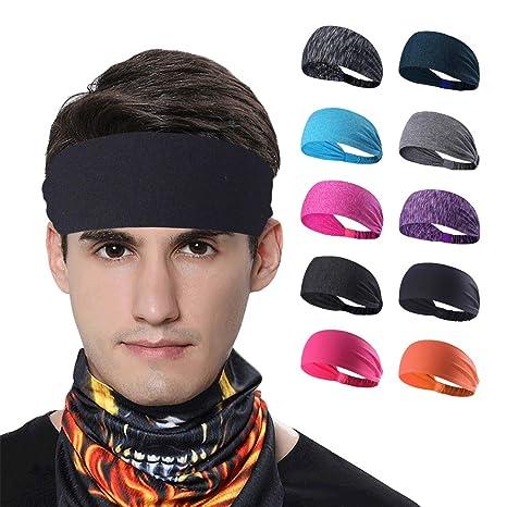 Amazon Com L Asher Headbands Unisex Women Gays Men Sweatband