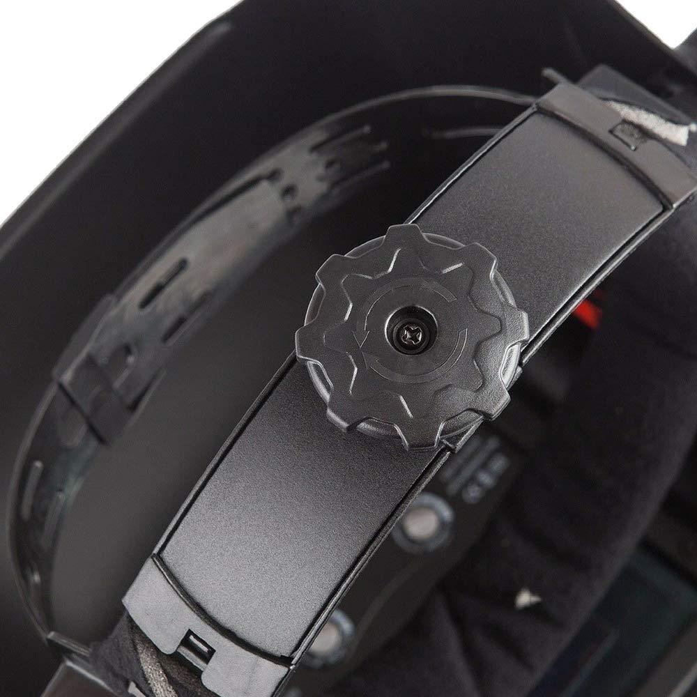HENGMEI Casco de soldadura de Oscurecimiento Autom/ático M/áscara de soldador