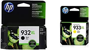 HP 932XL | Ink Cartridge | Black | CN053AN & 933XL | Ink Cartridge | Yellow | CN056AN
