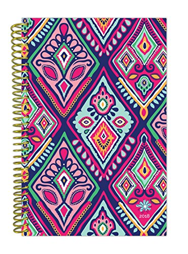 Calendar Diary (bloom daily planners 2018 Calendar Year Daily Planner - Passion/Goal Organizer - Monthly and Weekly Datebook Agenda Diary - January 2018 - December 2018-6