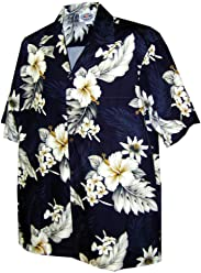 3372de0c Pacific Legend Plumeria Hibiscus-Hawaiian Shirts