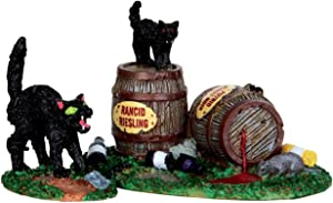 Lemax Spooky Town Wine Barrels, Set of 2 #34611
