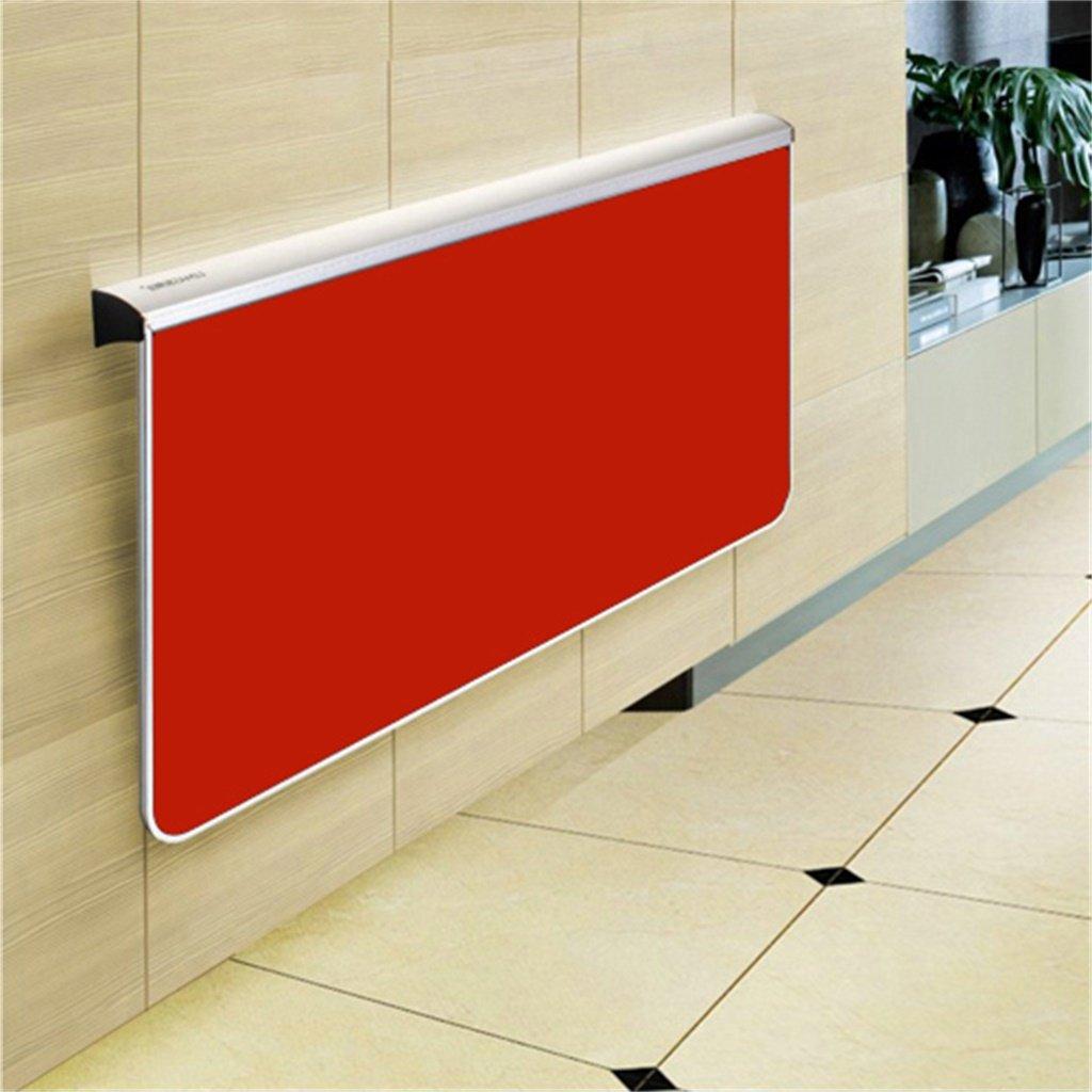 Mesa de pared Cqq Mesa de Comedor Plegable Mesa de Comedor Mesa de Escritorio Cocina Mesa Plegable (Color : A, Tamaño : L100cm)