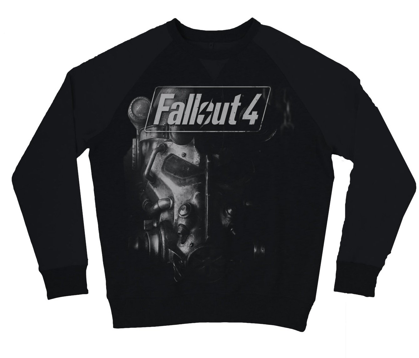 Fallout 4 - Brotherhood Of Steel Jersey Negro M New