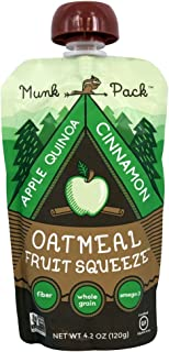 product image for Munk Pack - Gluten Free Oatmeal Fruit Squeeze Apple Quinoa Cinnamon - 4.2 oz (pack of 3)