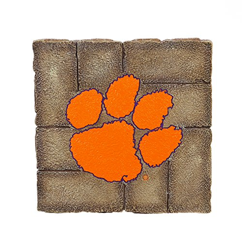 Clemson University Garden - Team Sports America Clemson University Garden Paver Team Logo Decorative Stepping Stone