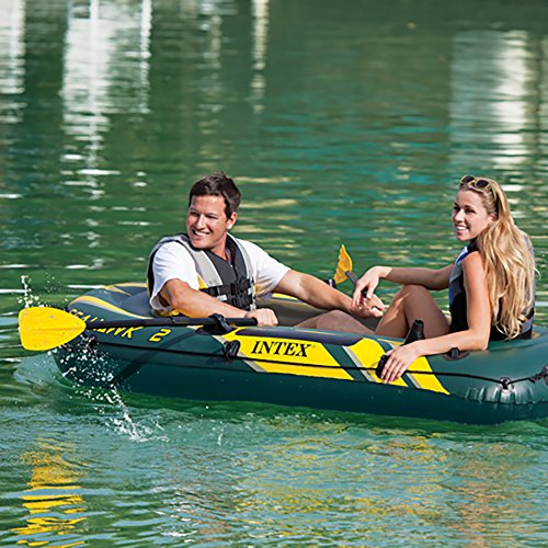 Intex Seahawk 2 Inflatable Boat Set + Oars/Pump/Motor Mount | 68347EP + 68624E by Intex (Image #3)
