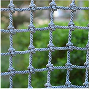 Child Safety Net,Kids Balcony Net Protection Fence Decor Climbing Woven Rope Truck Cargo Trailer Netting Net Mesh Nets,for Cats Outdoor Patios Railings Stairs Playground Children Indoor Ceiling,4""