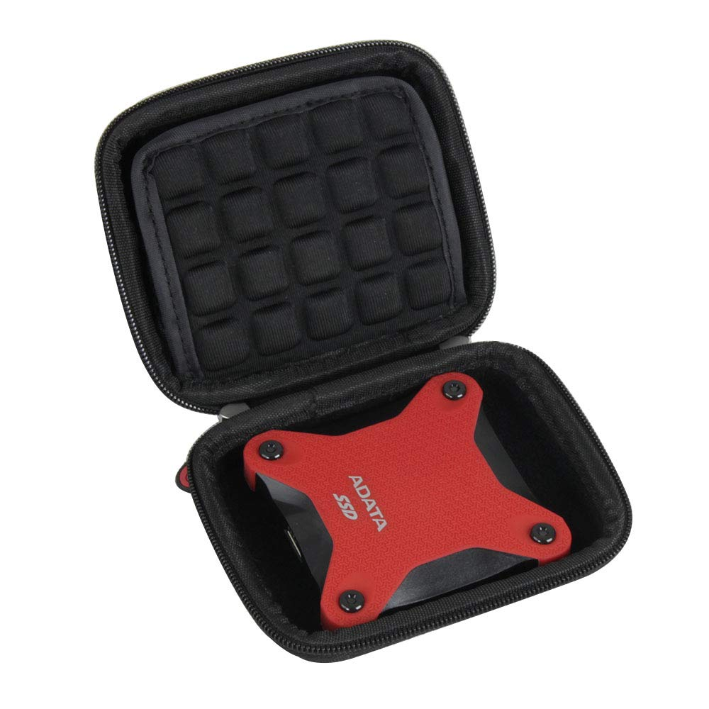 Hermitshell Hard Travel Case for ADATA SD600 3D NAND 256GB / 512 GB Ultra-Speed External Solid State Drive
