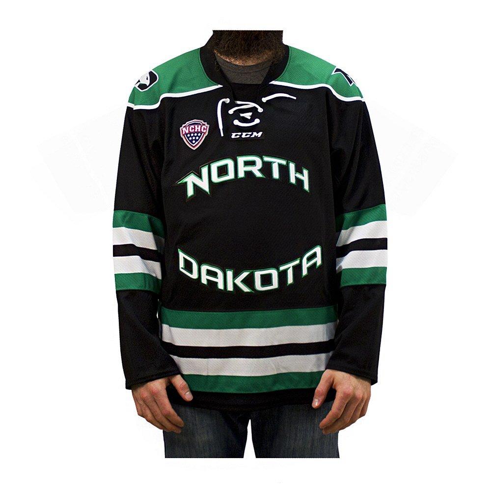 REA Sioux Shop University of North Dakota Replica CCM Hockey Jersey