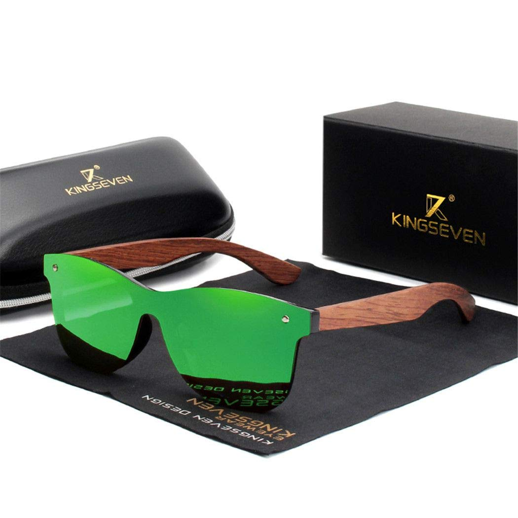 Natural Wooden Sunglasses Men Polarized Fashion Sun Glasses Original Wood green bubinga wood