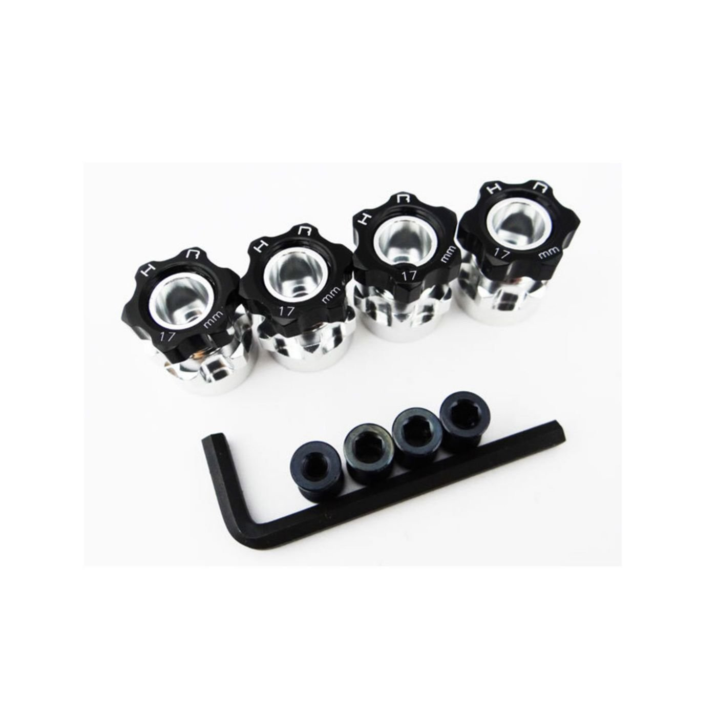 Hot Racing WH17HS01 Hex Hub Adapters 12mm to 17mm w/ w/ w/ 6mm Offset by Hot Racing 59b9e8