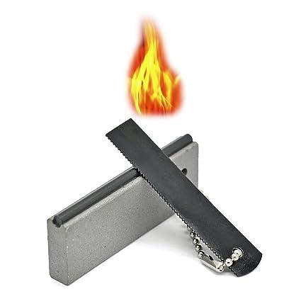 Grenhaven - Arrancador de fuego, Firesteel 2.000 disparos, Magnesio del Iniciador de Fuego y
