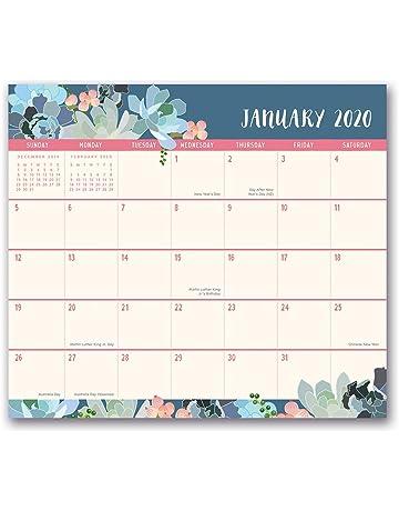 Decorated January 2020 Calendars Desk Calendars | Shop Amazon.com