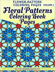 Amazon Floral Patterns Coloring Book Pages