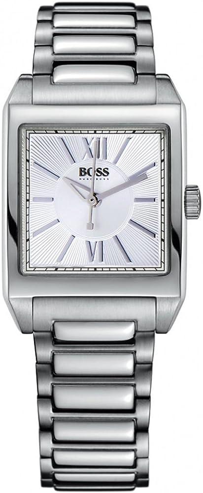 Hugo Boss 1502234 - Reloj de Cuarzo para Mujeres, Color Plata