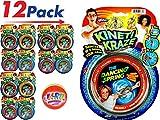 JA-RU Flow Kinetic Ring (Pack of 12) ToroFun Game or Arm Slinky| Item #785-12